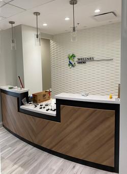 Clinic reception design