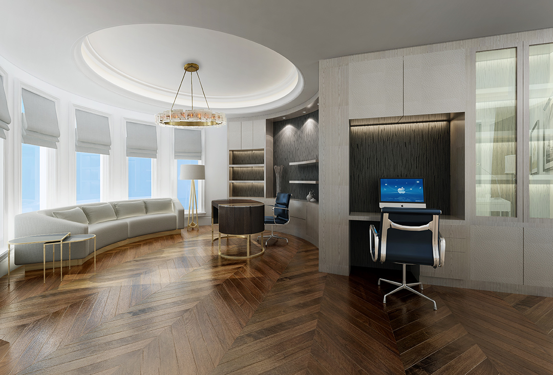 XL Design_home office rendering