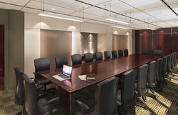 Office Meeting Room 3D Rendering