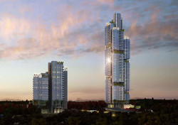 High-rise Condo 3D rendering