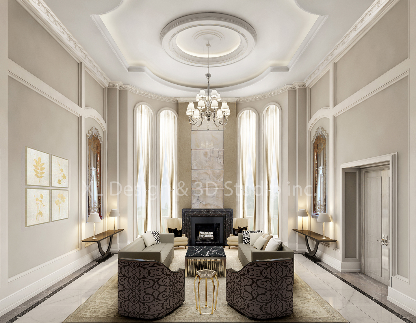 XL Design_ great room rendering