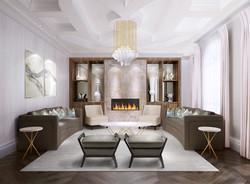 XL Design_livingrm rendering