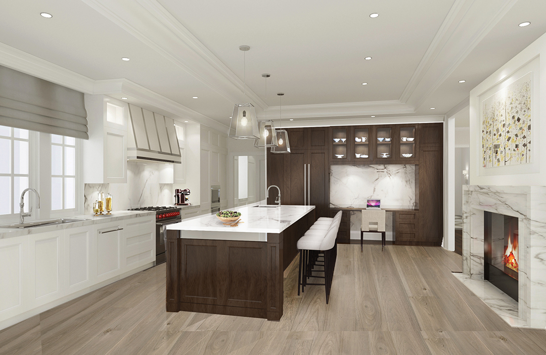 XL Design_Kitchen rendering