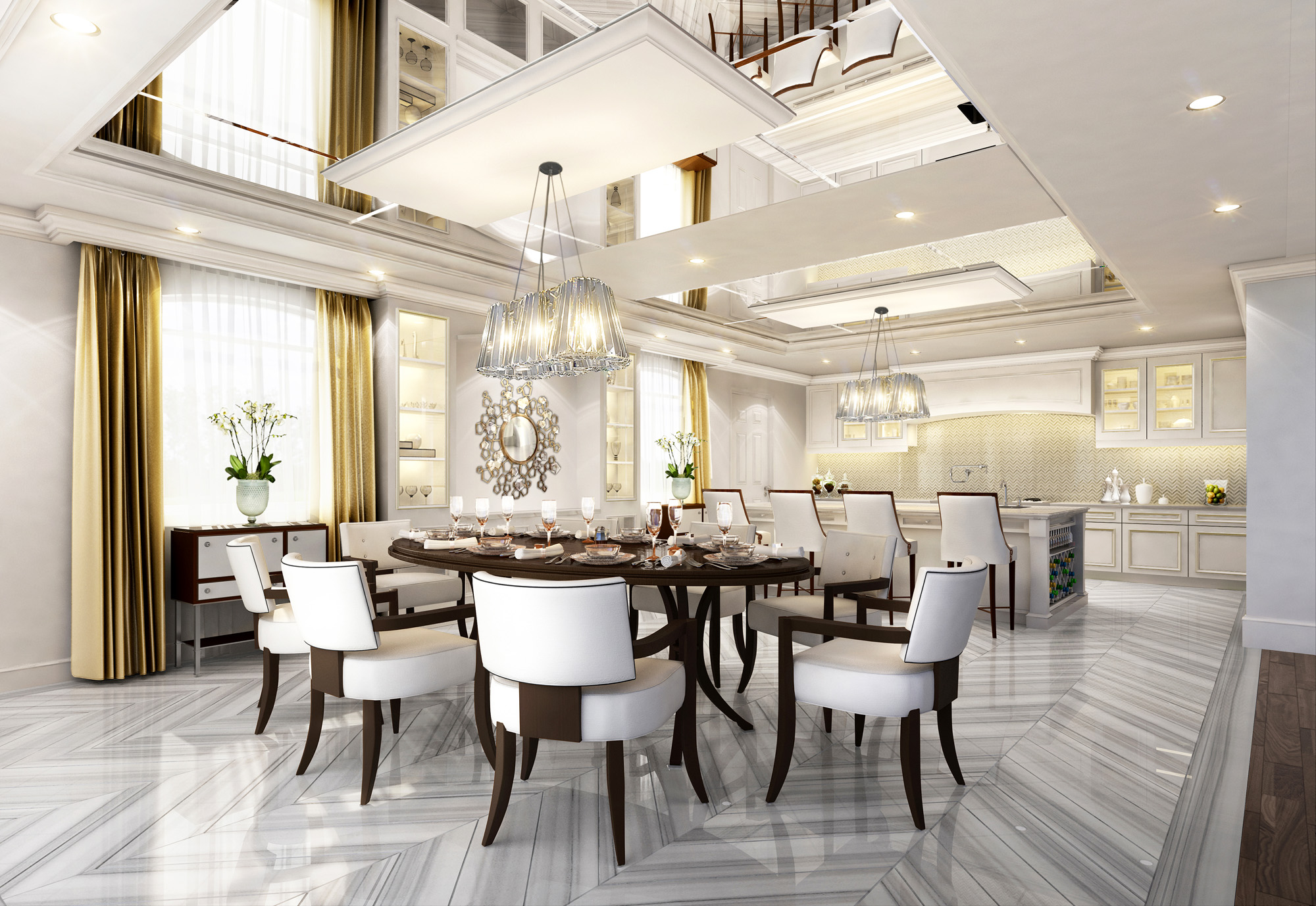 Oakville luxury home_Dining Room