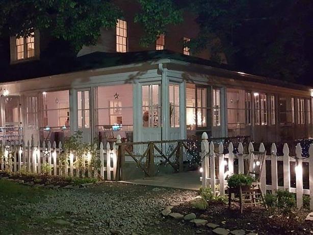 Beautiful Evening At The Inn