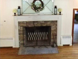 Fireplace w/Optional Candles Display