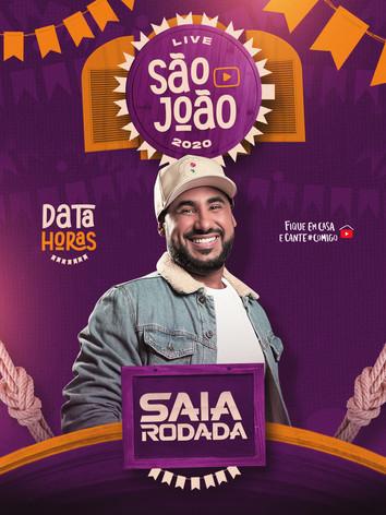 Flyer 15 - Saia Rodada - Live São João.j