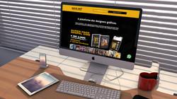 Arte Net - A plataforma dos designers gráficos.