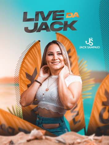 Flyer 23 - Jack Sampaio - Live da Jack.j