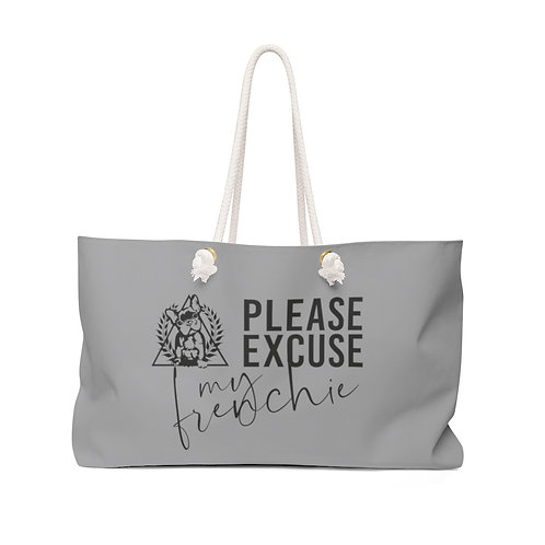 Weekender Bag - Pease Excuse My Frenchie