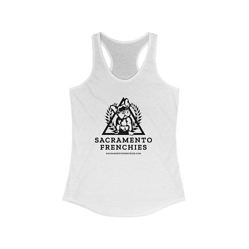 Women's Ideal Racerback Tank - Sacramento Frenchies
