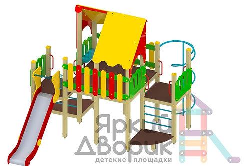 Д 605 Детский игровой комплекс Н=1200; 1500