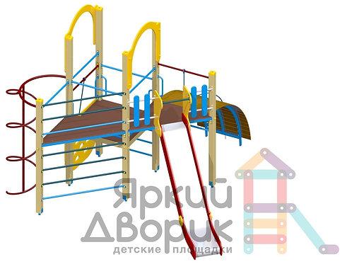 Д 312 Детский игровой комплекс Н=1200; 1500