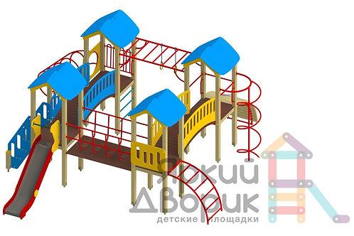 Д 404 Детский игровой комплекс Н=1200