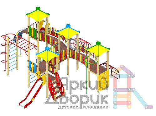 Д 501 Детский игровой комплекс Н=1200; 1500