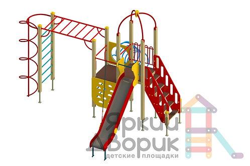 Д 213 Детский игровой комплекс Н=1200; 1500