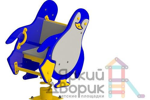 """И 407 Качалка на пружине """"Пингвин"""""""