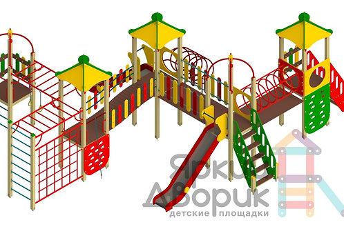 Д 502 Детский игровой комплекс Н=1200; 1500