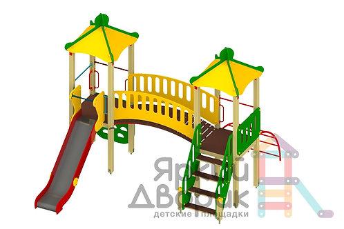 Д 209 Детский игровой комплекс Н=1200Детский игровой комплекс Н=1200