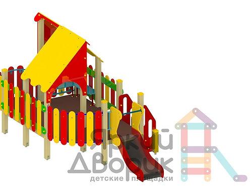 Д 608 Детский игровой комплекс Н=600