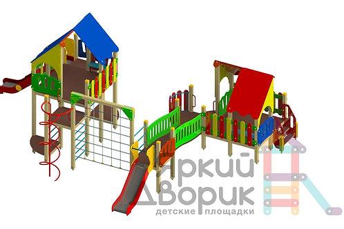 Д 802 Детский игровой комплекс Н=1500; 1800