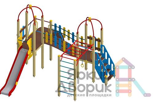 Д 313 Детский игровой комплекс Н=1200; 1500