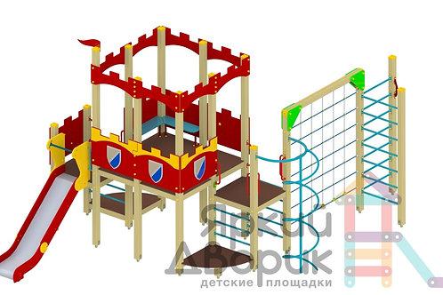 Д 607 Детский игровой комплекс Н=1200; 1500