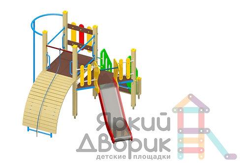 Д 214 Детский игровой комплекс Н=900; 1200