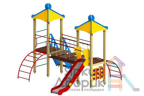 Д 208 Детский игровой комплекс Н=1200