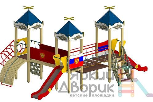 Д 315-В Детский игровой комплекс Н=1200; 1500