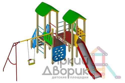 Д 406 Детский игровой комплекс Н=1200; 1500