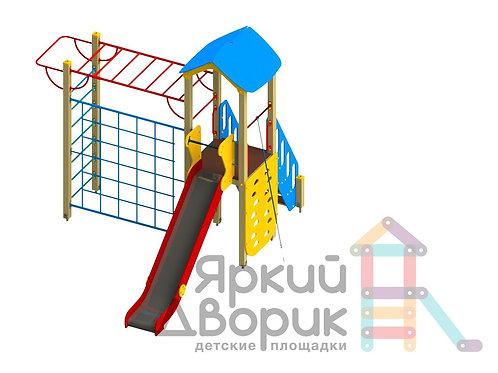 Д 105 Детский игровой комплекс Н=1500
