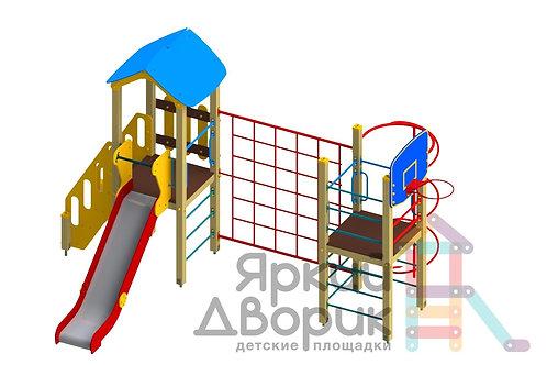 Д 210 Детский игровой комплекс Н=1200
