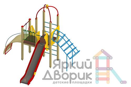 Д 219 Детский игровой комплекс Н=1200,1500