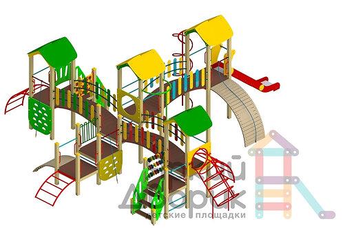 Д 902 Детский игровой комплекс Н=600; 900; 1200; 1500