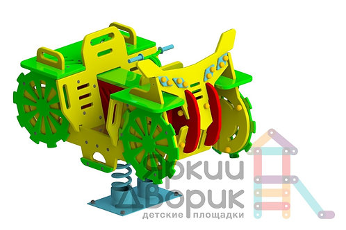 "И 428 Качалка на пружине ""Квадроцикл"""