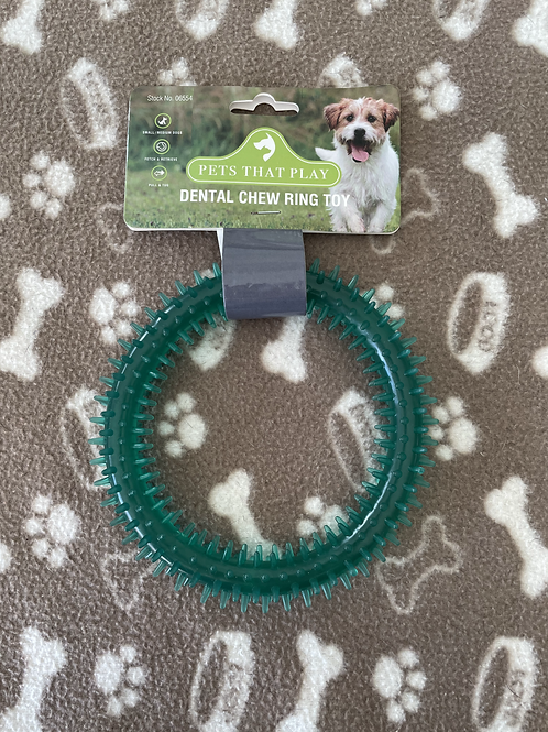 Dental Chew Ring Toy