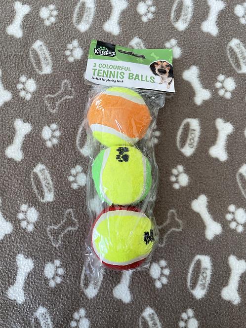 Pack of 3 Tennis Balls