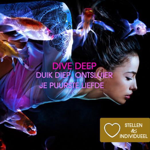 Dive Deep | Witte Tantra Weekend Incl diner, ontbijt, lunch | Koppels & Singles | 26 + 27 mrt 2022