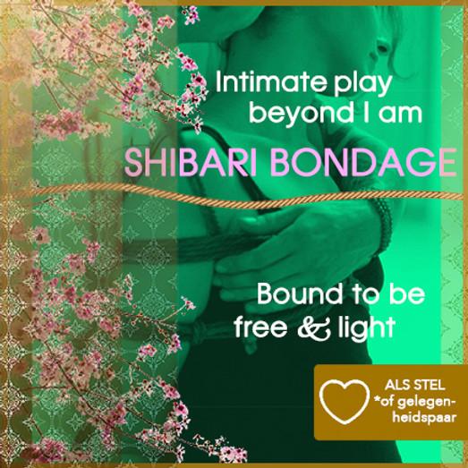 Tantra & Shibari Bondage workshop (Practice & Intimate Play) Incl. lunch | Koppels | Zon 09 jan 2022 tot 19:00