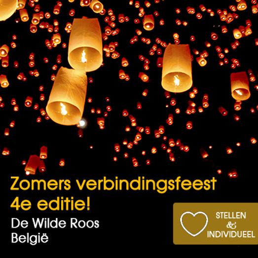 Zomers Verbindingsfeest   4de editie   De Wilde Roos België   Zaterdag 26 juni 2021