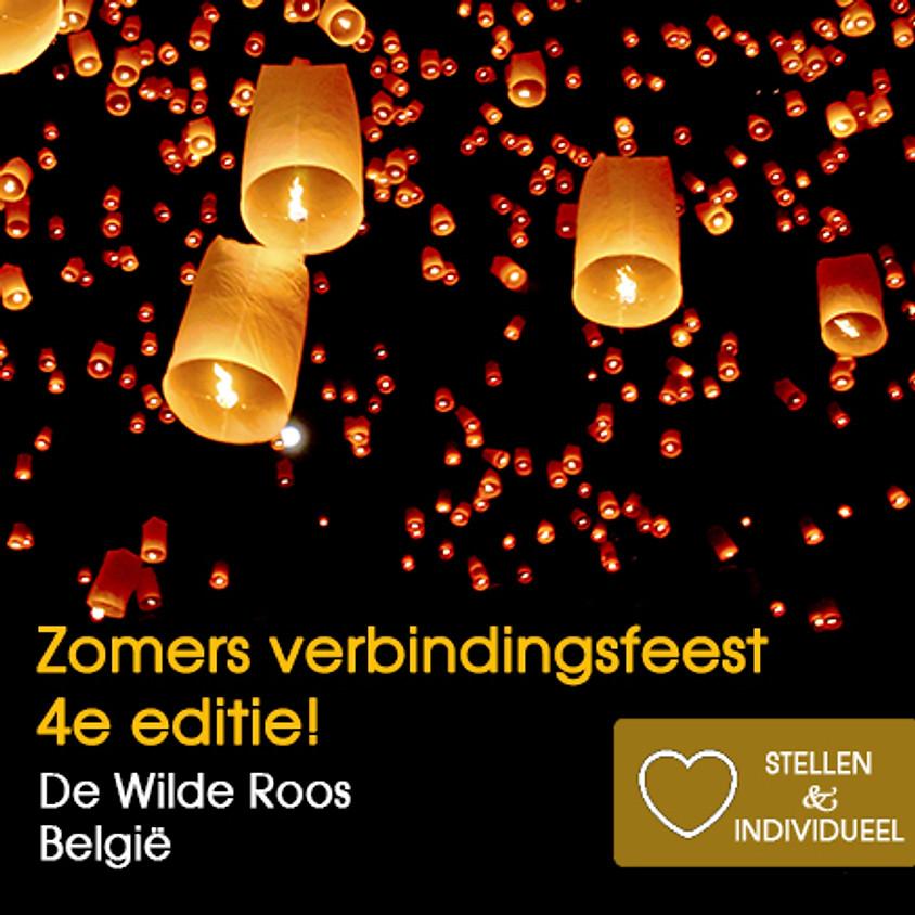 Zomers Verbindingsfeest | 4de editie | De Wilde Roos België | Zaterdag 26 juni 2021