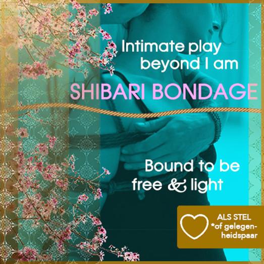 Tantra & Shibari Bondage workshop   Incl. diner   Koppels   Extra lange versie: Zat middag + avond 03 juli 2021