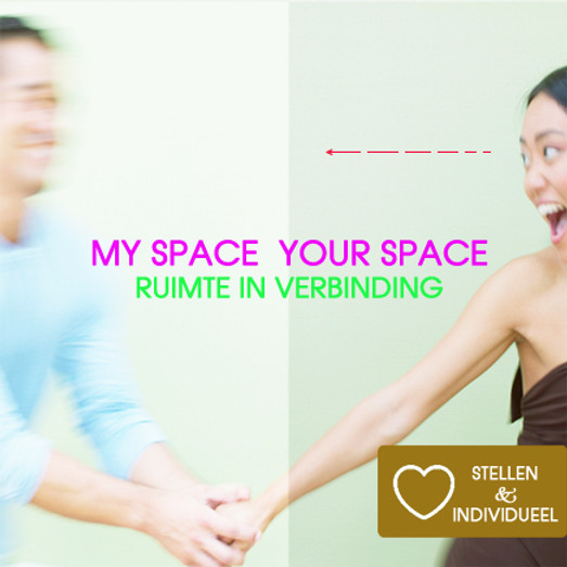 My Space - Your Space | Witte Tantra Weekend Retreat Incl diner, ontbijt, lunch | Koppels & Singles | 12 + 13 febr 2022