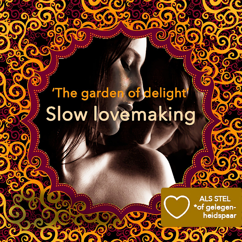 Dagworkshop | Slow Lovemaking | Witte 'Tantra Massage' Workshop voor Stellen | Zondag 17 juli 2022