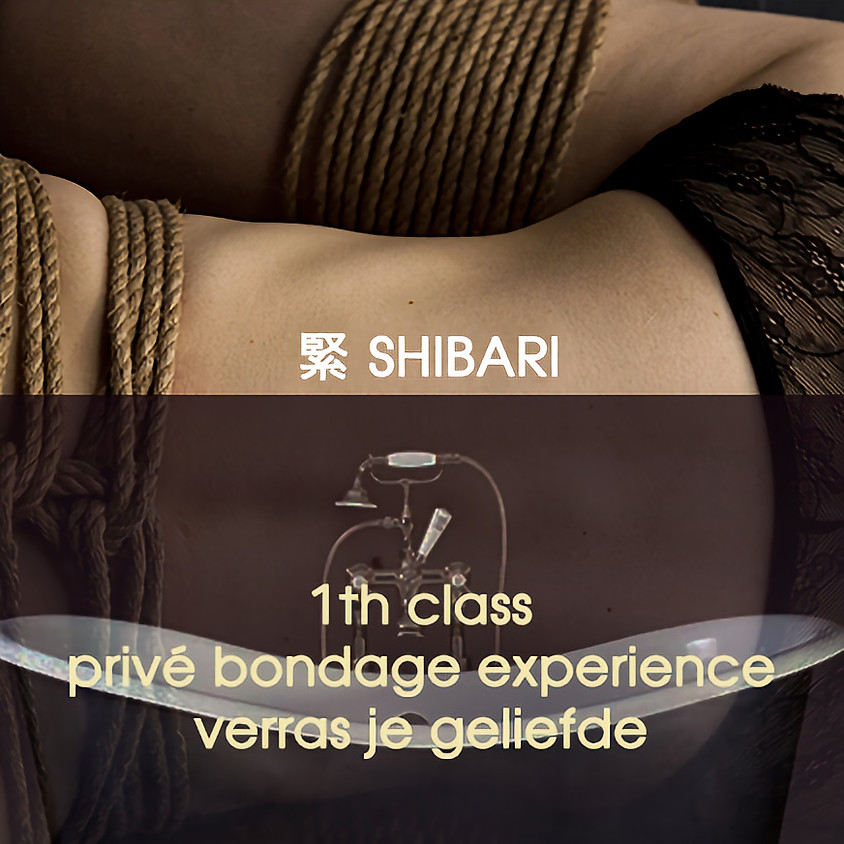 SHIBARI Privé bondage experience | Unieke hartegift met een verfijnd rafelrandje