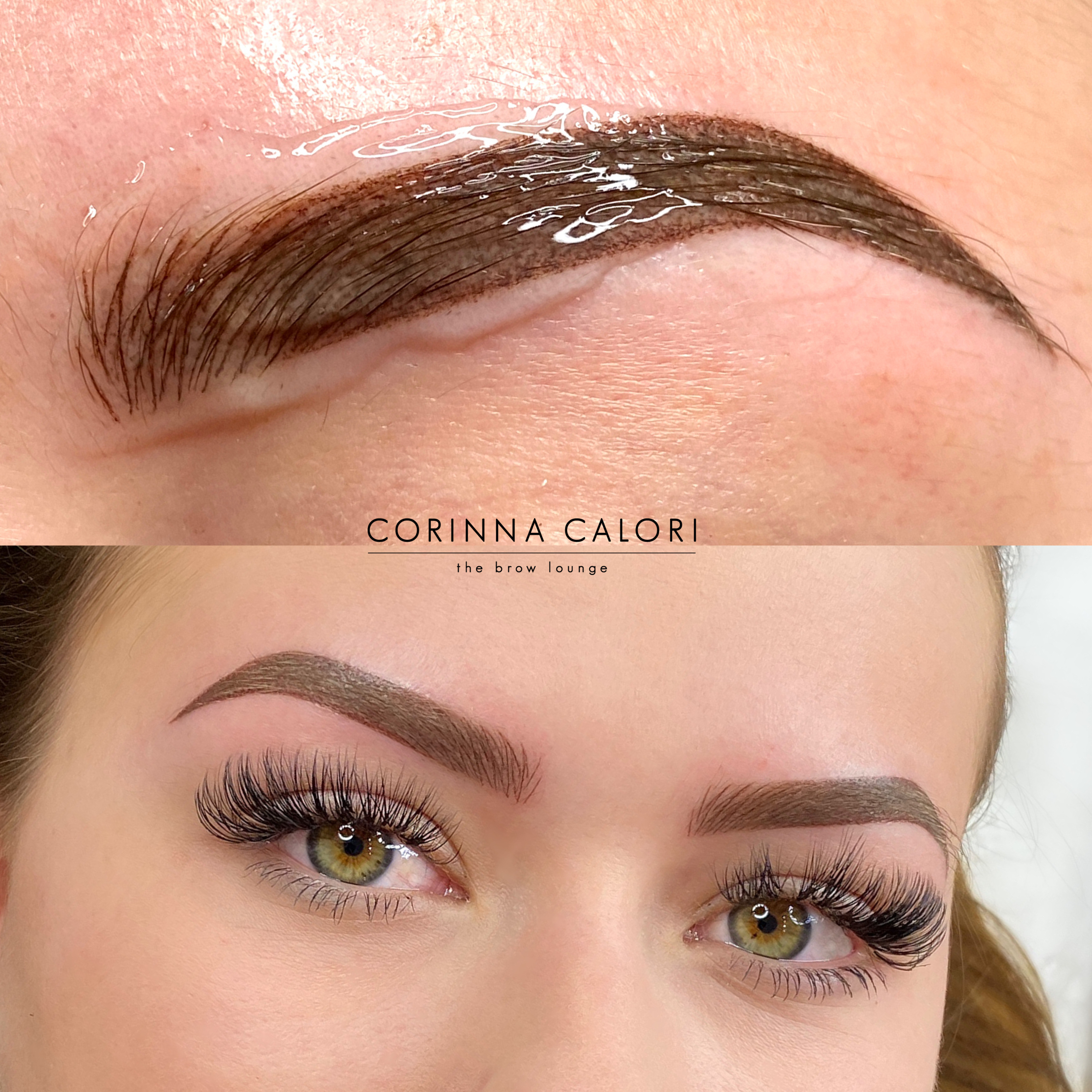 Combo Eyebrows initial visit