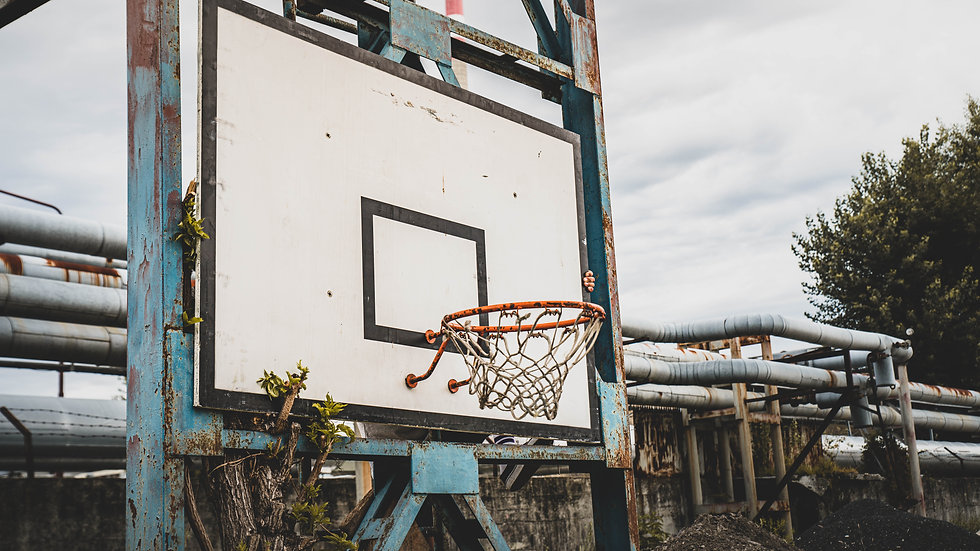 Vintage Old School Basketball Backboard from the 1970s