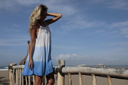 Šaty colors - modré