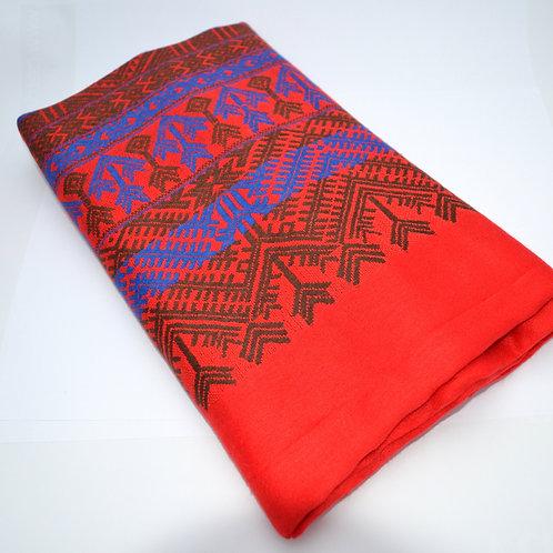 Nejjemnější pašmínový šál - červený